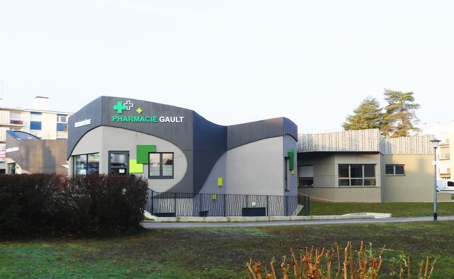 Bâtiment commerce à Mulhouse